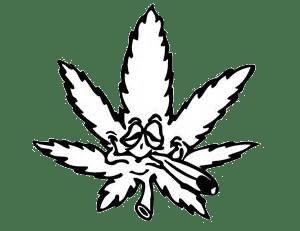 Skodelica – Cannabis crno bela