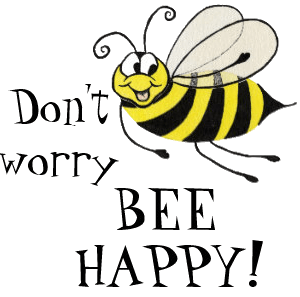 Skodelica – Dont worry Bee happy