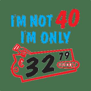 Skodelica – Im not 40