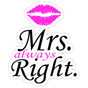 Skodelica – Mrs. always right