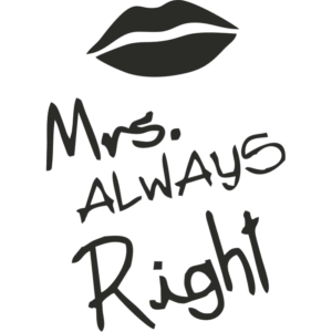 Skodelica – Mrs. always right – cb