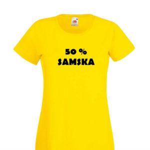 Ženska majica – 50 samska