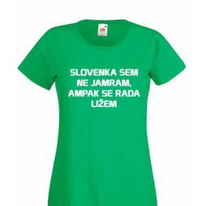 Ženska majica – Ampak se rada ližem