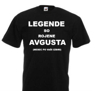 Moška majica – Legende so rojene avgusta
