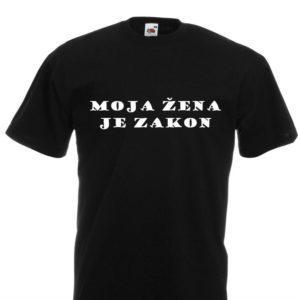 Moška majica – Moja žena je zakon