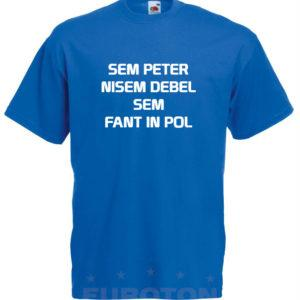 Moška majica – Sem Peter nisem debel