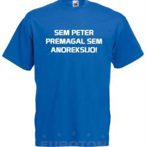 Moška majica – Sem Peter premagal sem anoreksijo