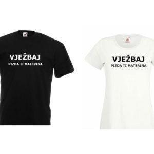 Majici za par – Vježbaj pizda ti materina 2