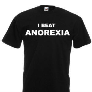 Moška majica – I beat anorexia