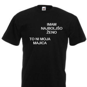 Moška majica – Imam najboljšo ženo