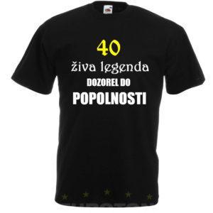 Moška majica – Živa legenda