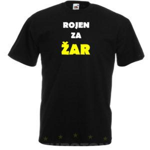 Moška majica – Rojen za žar