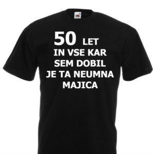 Moška majica – 50 let in vse kar sem dobil