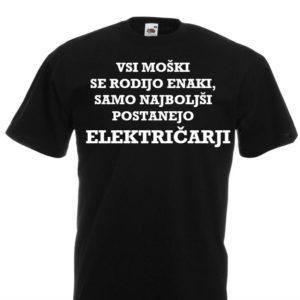 Moška majica – Vsi moški – Električarji